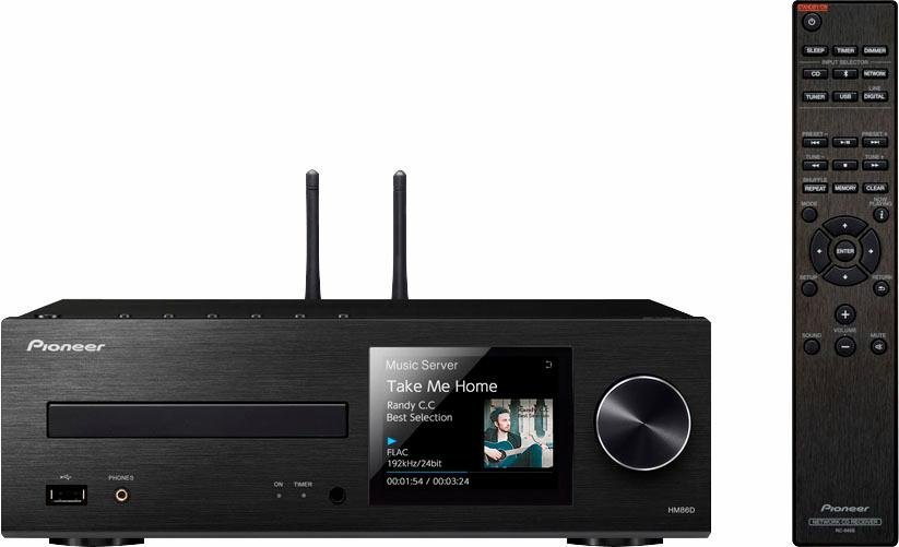 pioneer audio xc hm86d microanlage hi res deezer spotify airplay bluetooth wlan. Black Bedroom Furniture Sets. Home Design Ideas