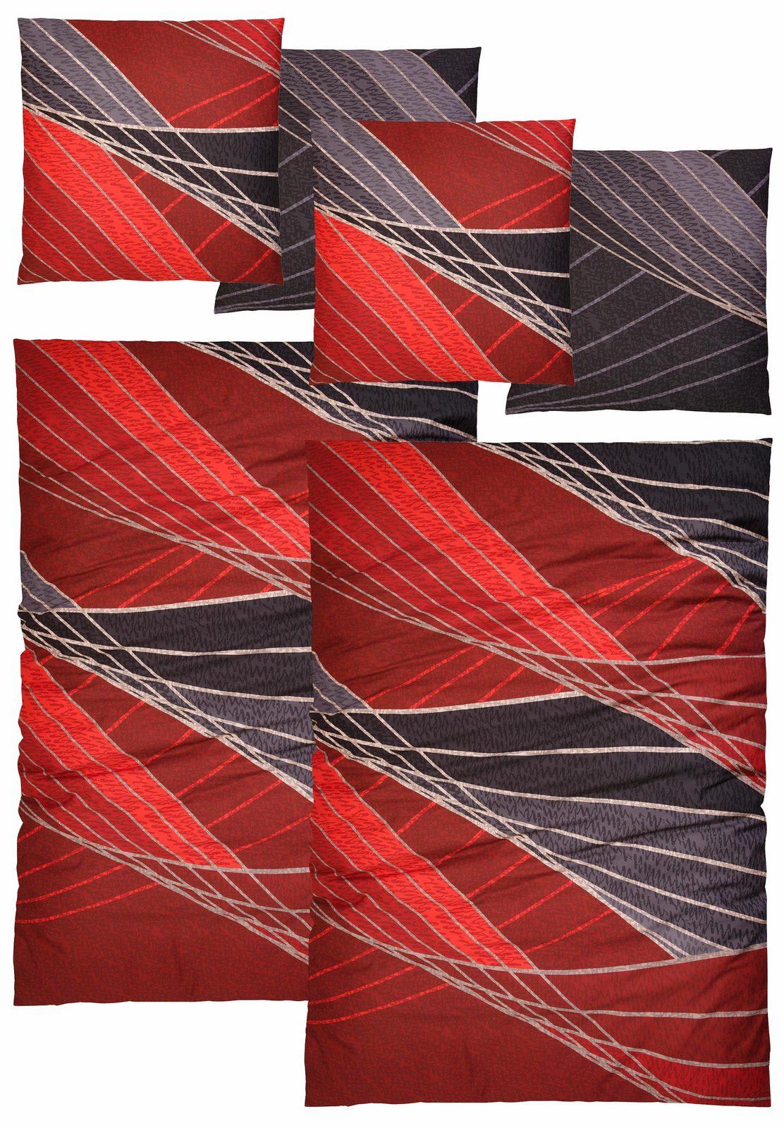 Bettwäsche »Pablo«, Auro Hometextile, mit modernen Gittern