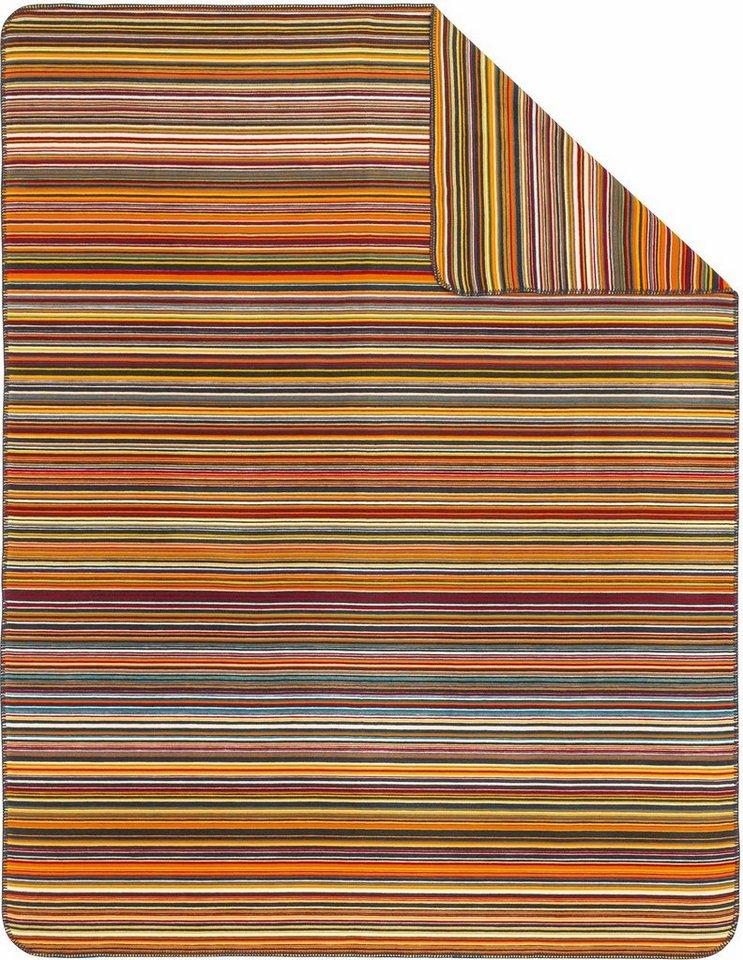 Wohndecke, Ibena, »Stripes«, mit bunten Streifen in bunt