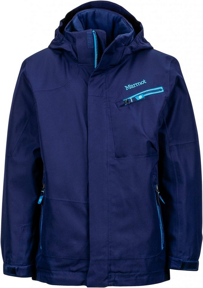 Marmot Outdoorjacke »Freerider Jacket Boys« in blau