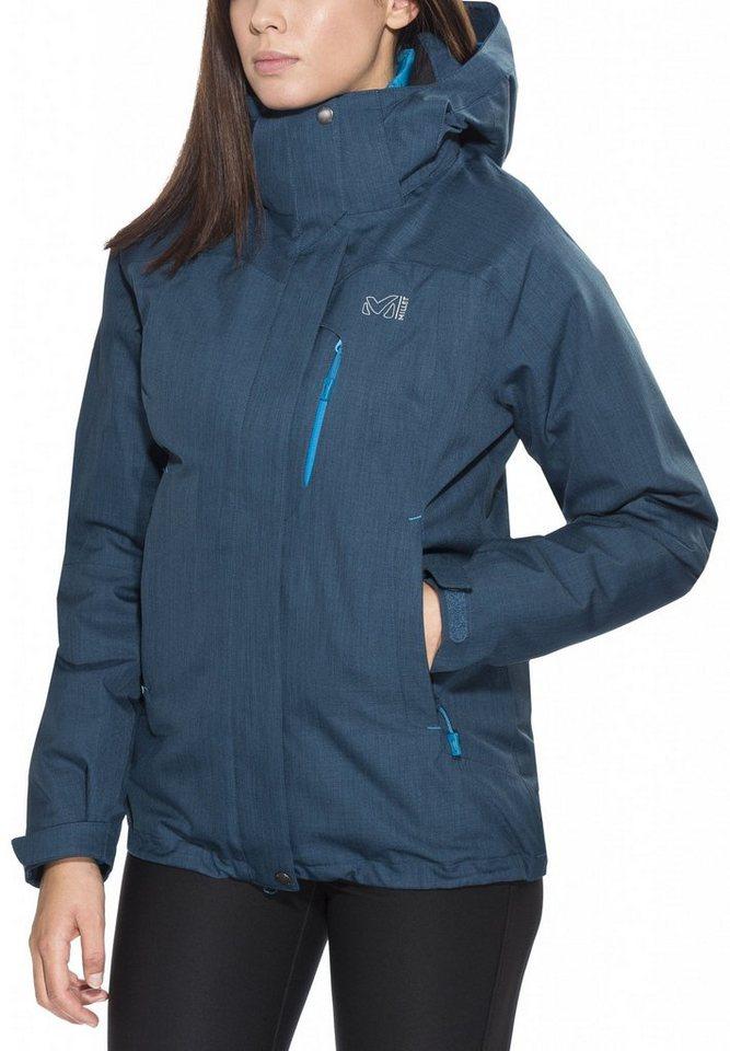 Millet Outdoorjacke »LD Pobeda 3in1 Jacket Women« in blau