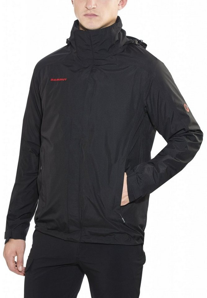 Mammut Outdoorjacke »Ayako 4-S-Jacket Men« in schwarz