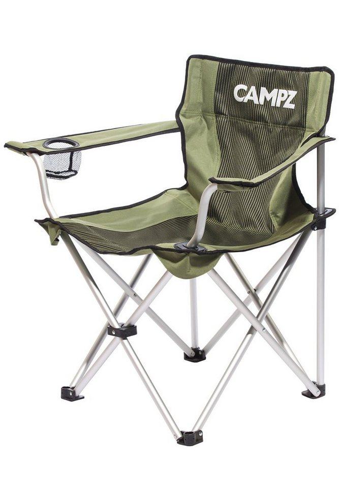 CAMPZ Camping-Stuhl »Aluminium Folding Chair« in oliv