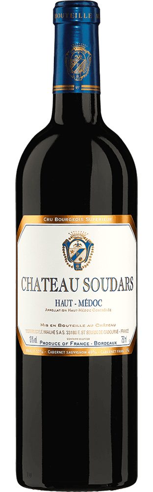 Rotwein aus Frankreich, 13,0 Vol.-%, 75,00 cl »2005 Château Soudars«