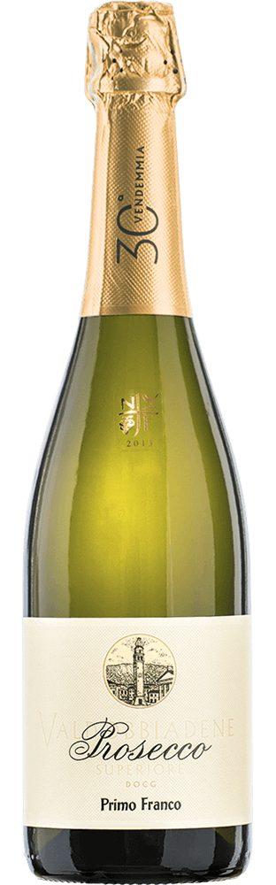 Schaumwein aus Italien, 10,5 Vol.-%, 75,00 cl »2013 Primo Franco Dry«