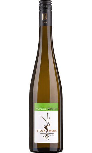 Weisswein aus Deutschland, 12,5 Vol.-%, 75,00 cl »2014 Riesling Stockwerk Trocken«