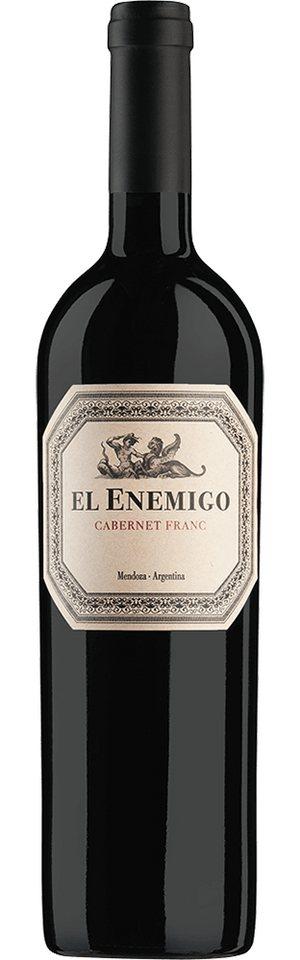 Rotwein aus Argentinien, 14,0 Vol.-%, 75,00 cl »2010 Cabernet Franc El Enemigo«