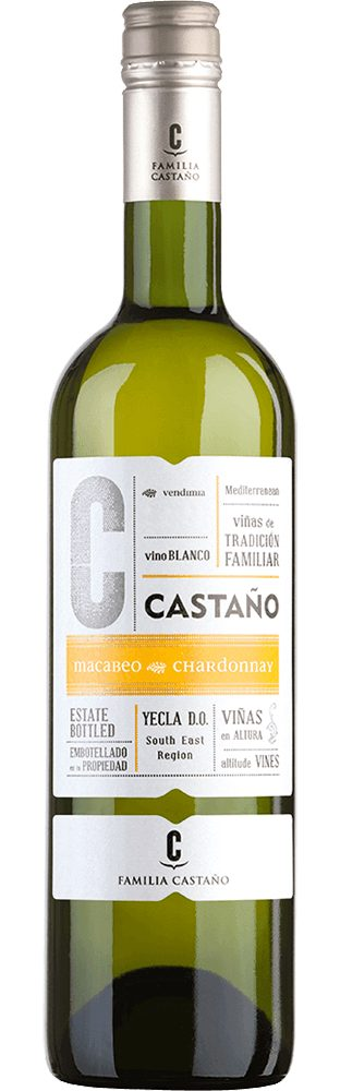 Weisswein aus Spanien, 12,5 Vol.-%, 75,00 cl »2015 Chardonnay Macabeo«