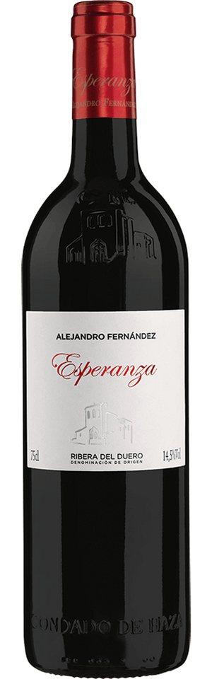Rotwein aus Spanien, 14,5 Vol.-%, 75,00 cl »2011 Esperanza Alejandro Fernández«