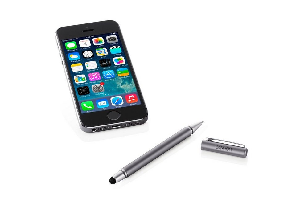 Wacom Tablet-Zubehör »BAMBOO STYLUS DUO3 SILVER«