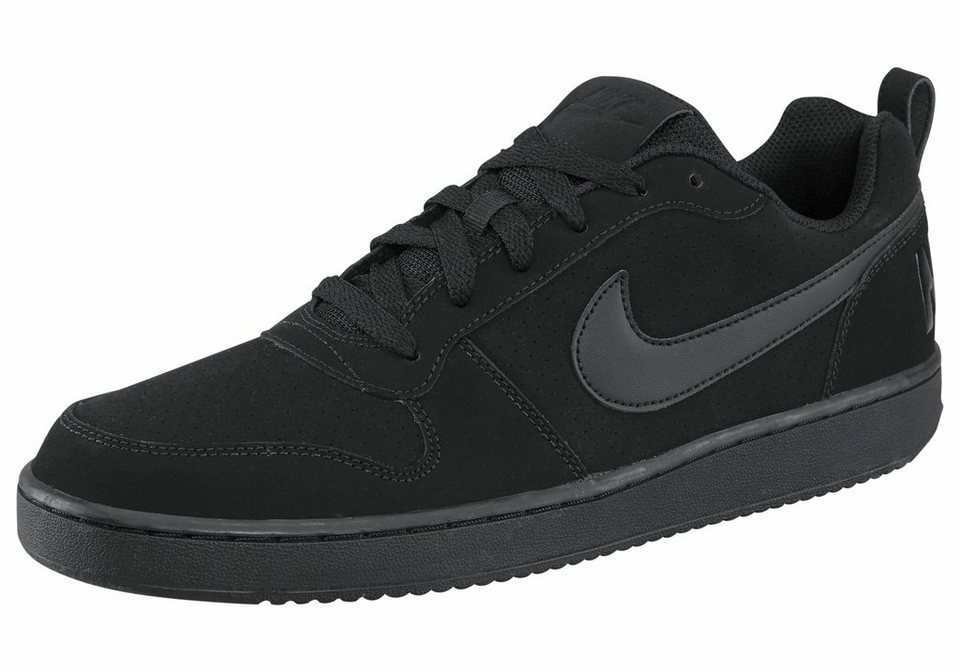 Nike »Court Borough Low Shoe« Sneaker in schwarz