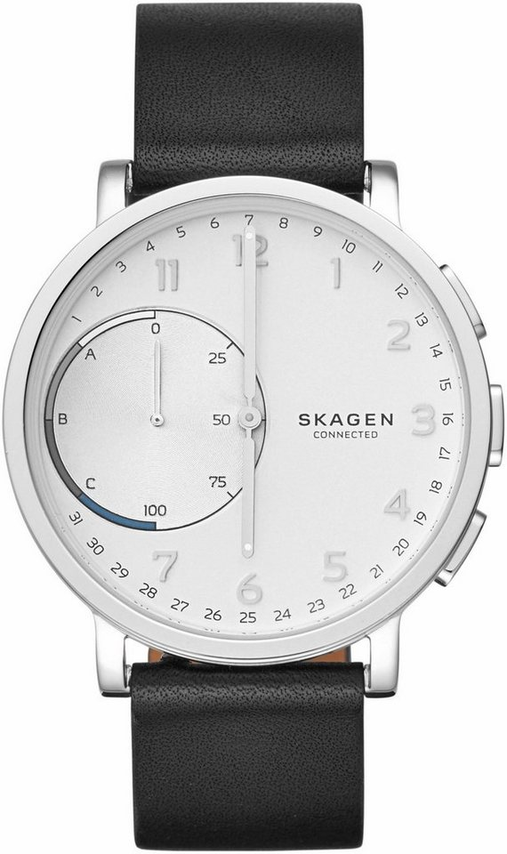 SKAGEN CONNECTED Quarzuhr »HAGEN CONNECTED, SKT1101« in schwarz