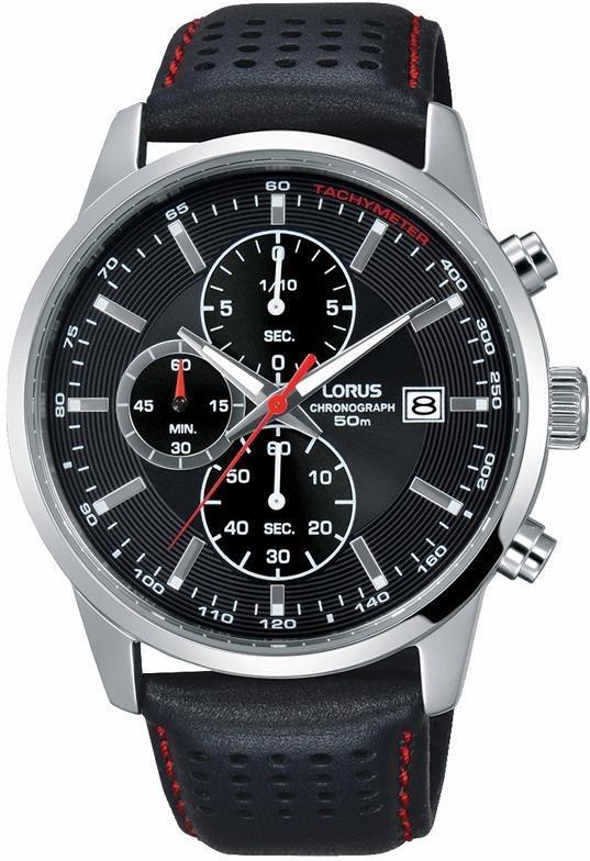 LORUS Chronograph »RM335DX9« aus dem Hause Seiko in schwarz