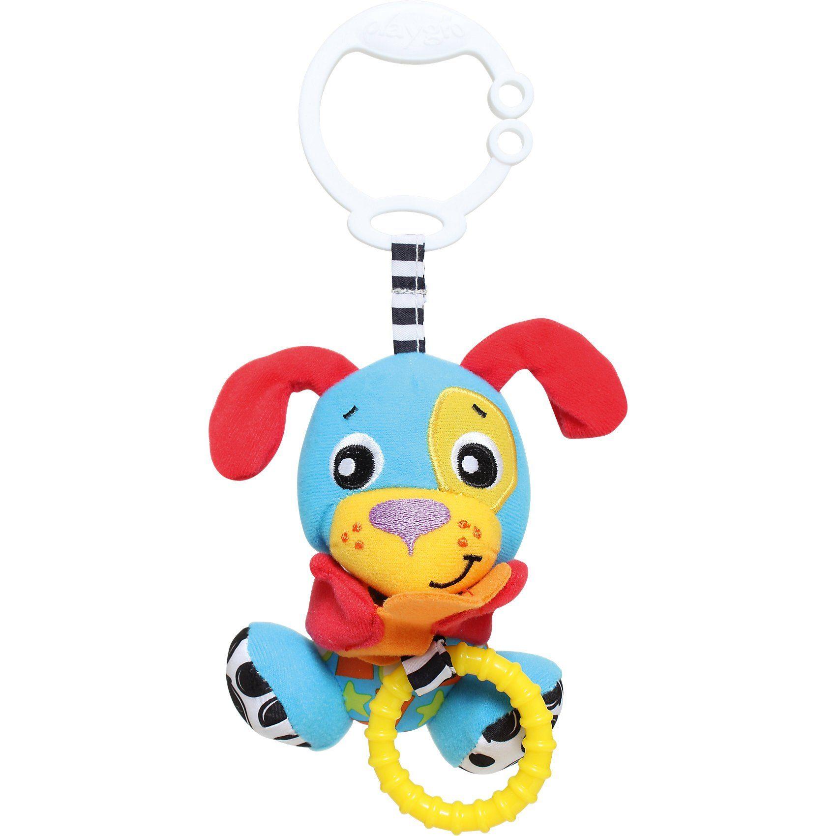 Playgro Anhänger Hund mit Versteckspiel- funktion