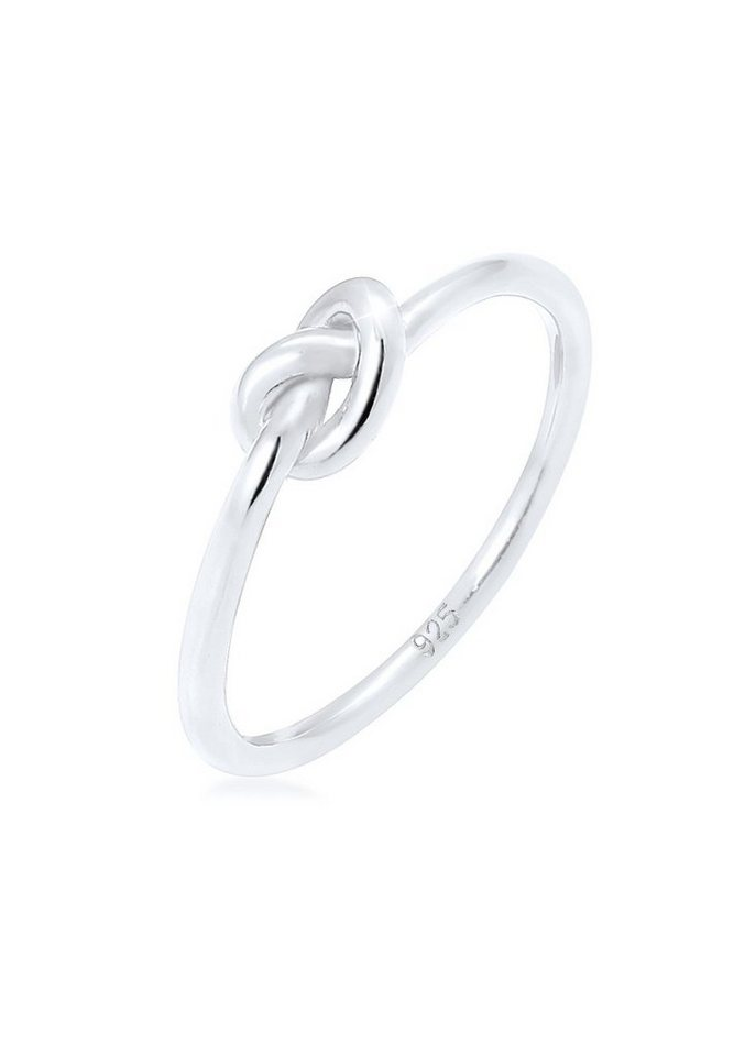 Elli Ring »Trend Knoten 925 Silber« in Silber