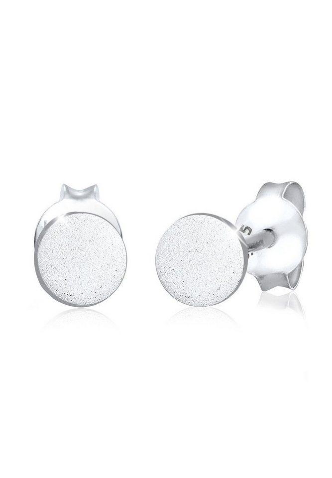 Elli Boucles, d´oreilles, cercle, délustré, filigrane, 925/1000 in Silber