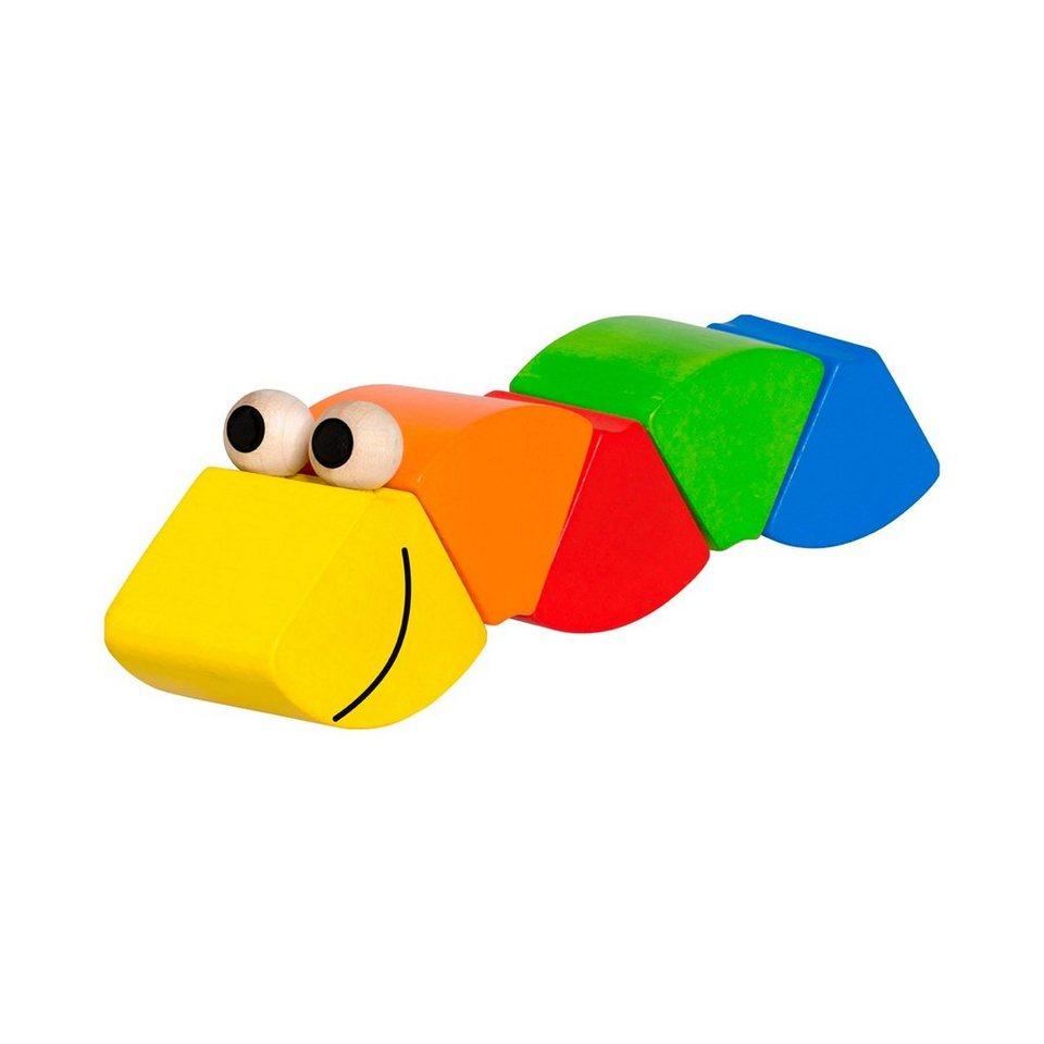 SELECTA Klettwurm Freddi in mehrfarbig