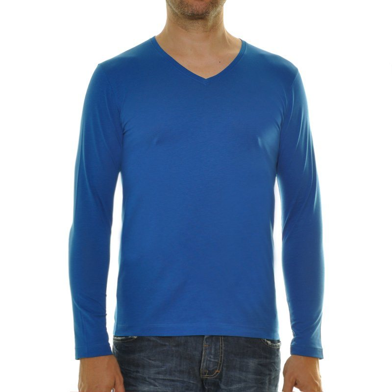 Ragman Langarmshirt in dunkelblau