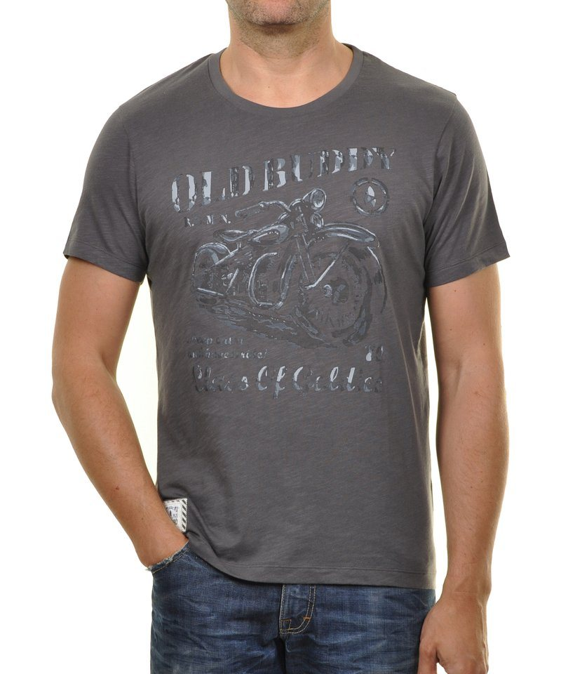 Ragman T-Shirt in grau
