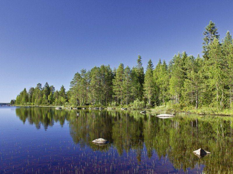 Artland Poster oder Leinwandbild »Landschaften Gewässer See Fotografie Blau« in Blau