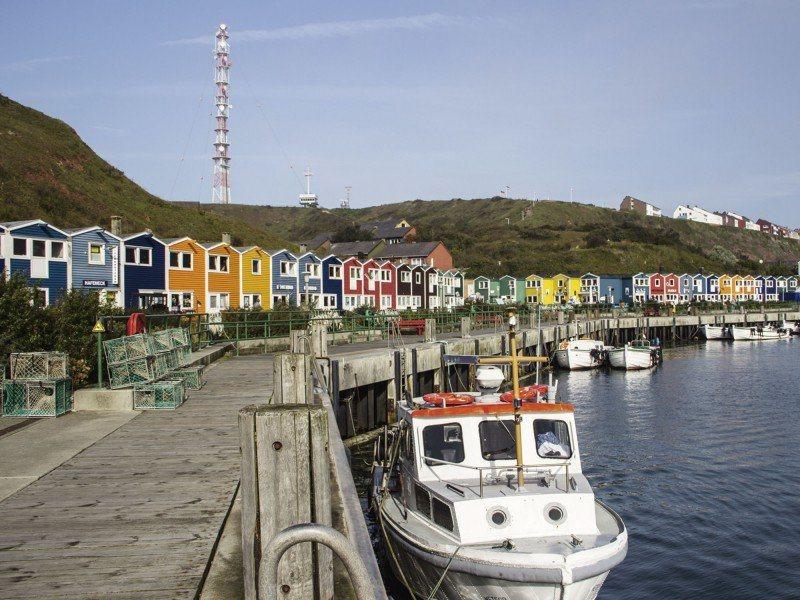 Artland Poster oder Leinwandbild »Fahrzeuge Boote & Schiffe Fotografie Blau« in Blau