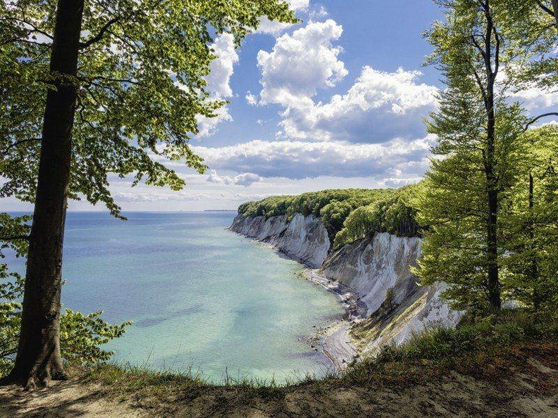 Artland Poster oder Leinwandbild »Landschaften Küste Fotografie Blau« in Blau