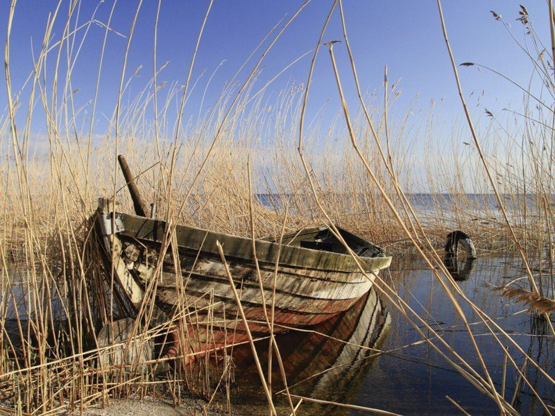Artland Poster oder Leinwandbild »Fahrzeuge Boote & Schiffe Fotografie Bunt« in Bunt