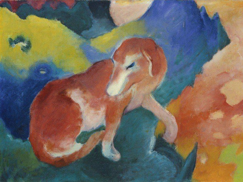 Artland Poster oder Leinwandbild »Tiere Haustiere Huhn Malerei Bunt« in Bunt