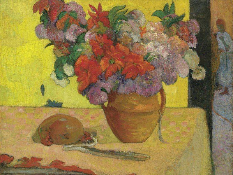 Artland Poster oder Leinwandbild »Stillleben Arrangements Botanik Malerei Gelb« in Gelb