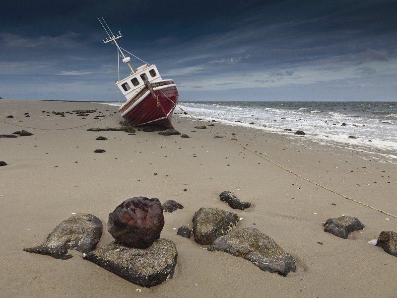 Artland Poster oder Leinwandbild »Fahrzeuge Boote & Schiffe Fotografie Natur« in Natur