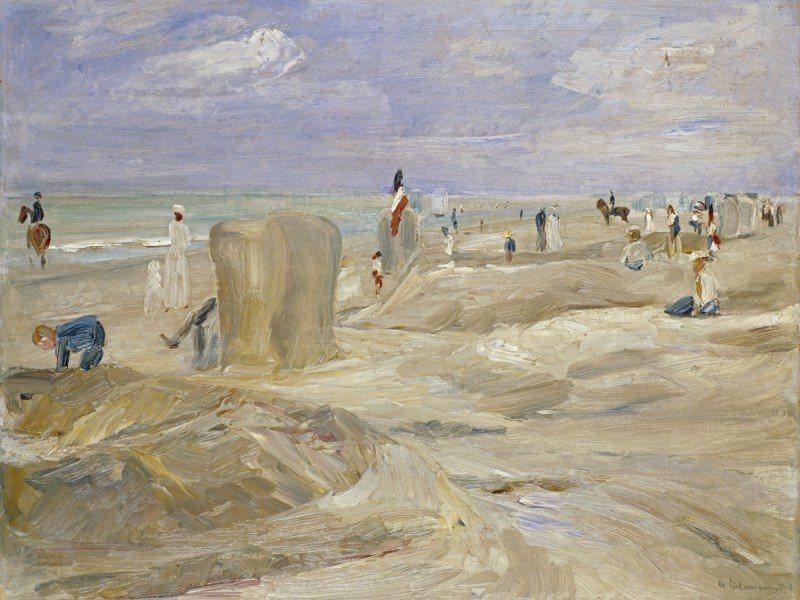 Artland Poster oder Leinwandbild »Landschaften Strand Malerei Natur« in Natur