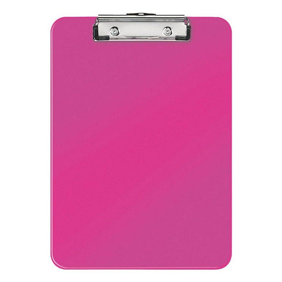 Leitz Klemmbrett »WOW« in pink metallic
