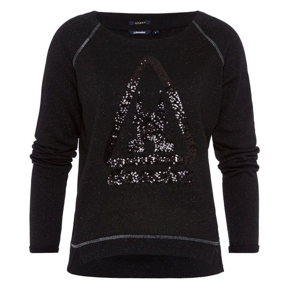 Gaastra Sweatshirt in schwarz