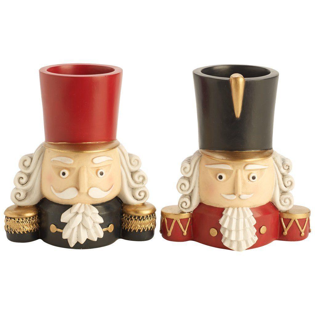 VILLEROY & BOCH Nussknacker Leuchter Set 2 13cm »Christmas Toys 2016«