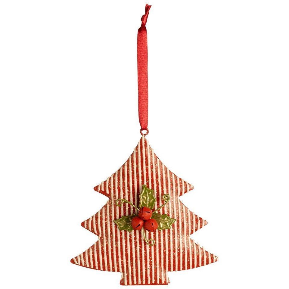 VILLEROY & BOCH Hänger Baum 10cm »Winter Bakery 2016« in dekoriert