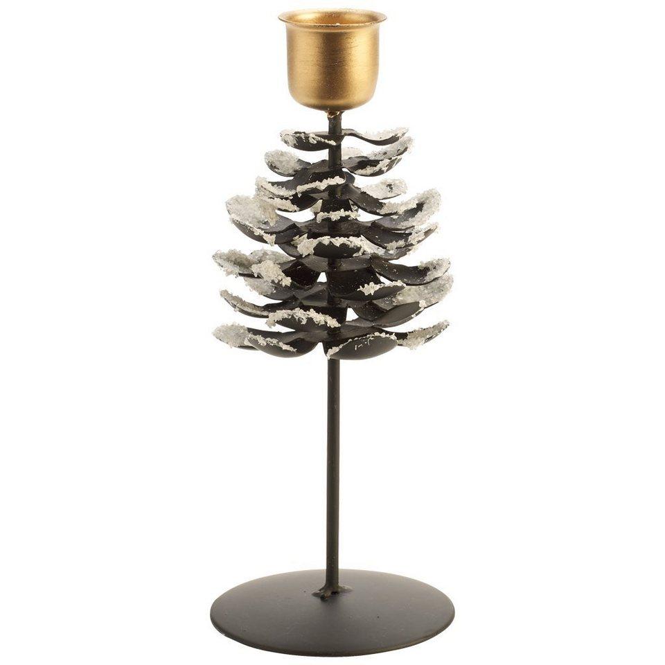 VILLEROY & BOCH Leuchter Zapfen L 17cm »Christmas Toys 2016« in dekoriert