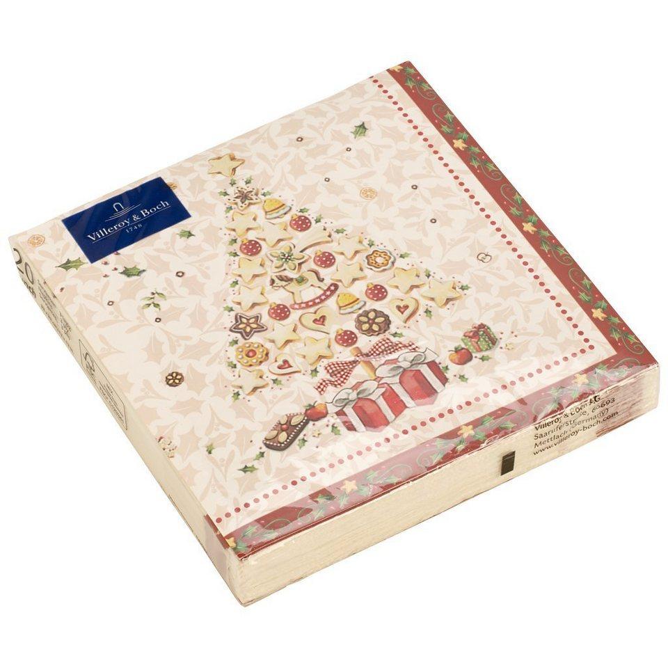 VILLEROY & BOCH Bakery L-Servietten Weihnachtsbaum »Winter Specials« in dekoriert