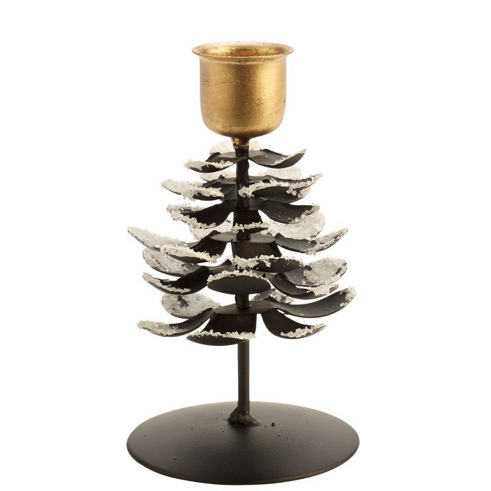 VILLEROY & BOCH Leuchter Zapfen M 12cm »Christmas Toys 2016« in dekoriert