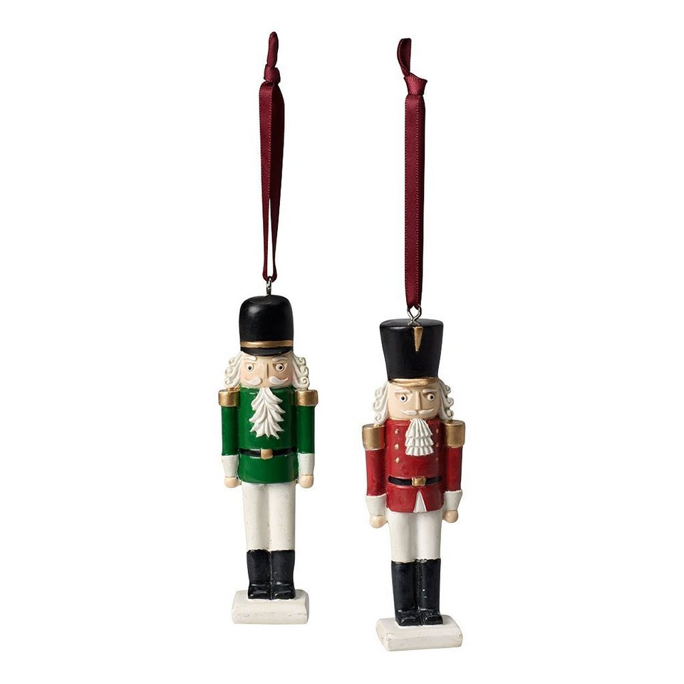 VILLEROY & BOCH Hänger Nussknacker Set 2 12x8cm »Christmas Toys 2016« in dekoriert
