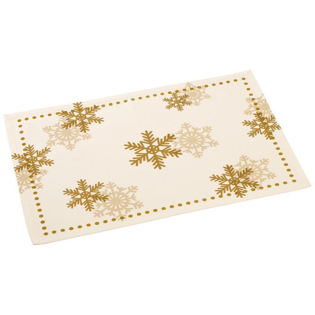 VILLEROY & BOCH Platzset Baumwolle Satin 35x50cm »Classic Christmas 2016«