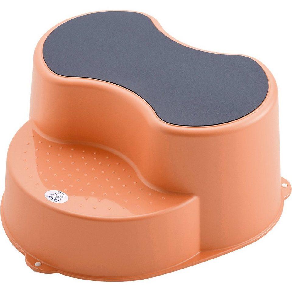 Rotho Babydesign Trittschemel Top, peach in pfirsich