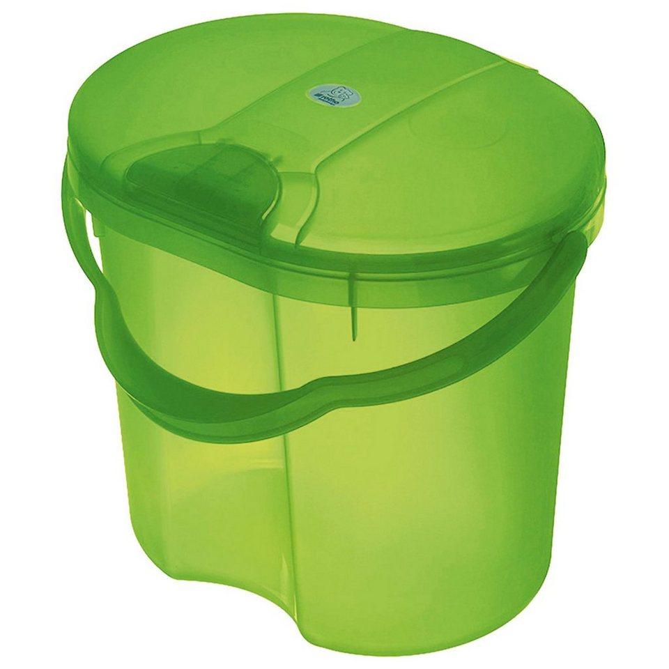 Rotho Babydesign Windeleimer Top, translucent lime in limegrün
