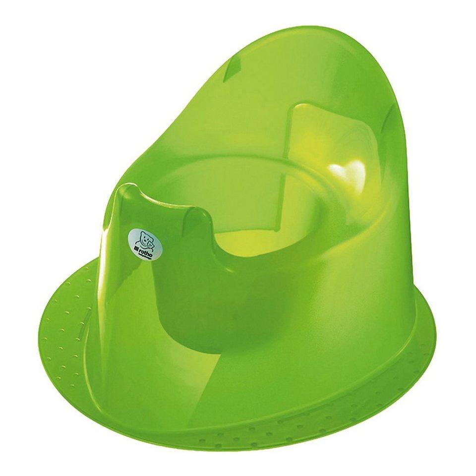 Rotho Babydesign Töpfchen Top,translucent lime in limegrün