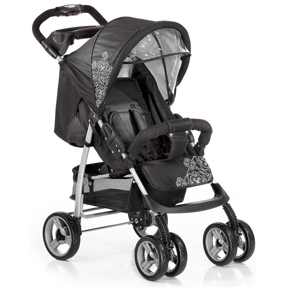 knorr baby sportwagen v easy fold black white otto. Black Bedroom Furniture Sets. Home Design Ideas