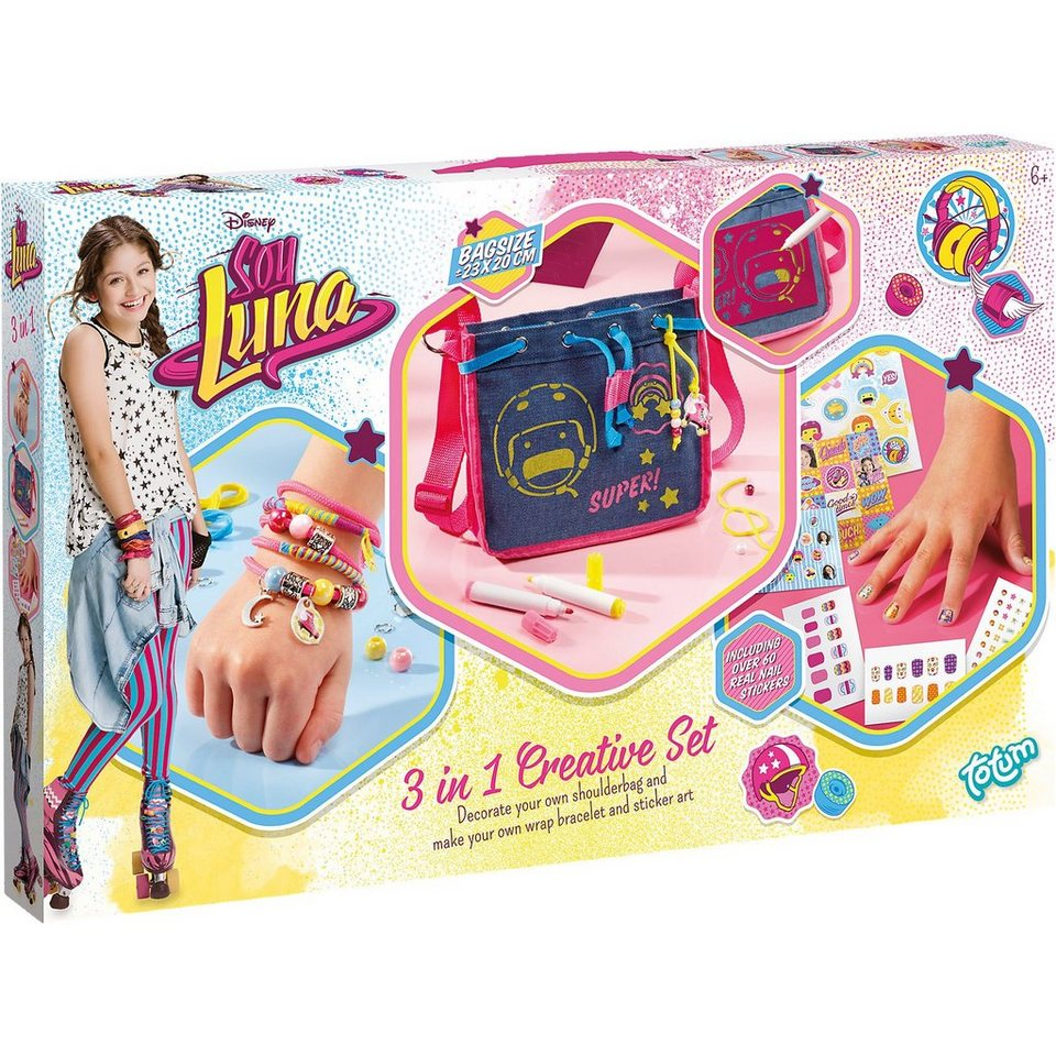 TOTUM Soy Luna 3 in 1 Creativity Set