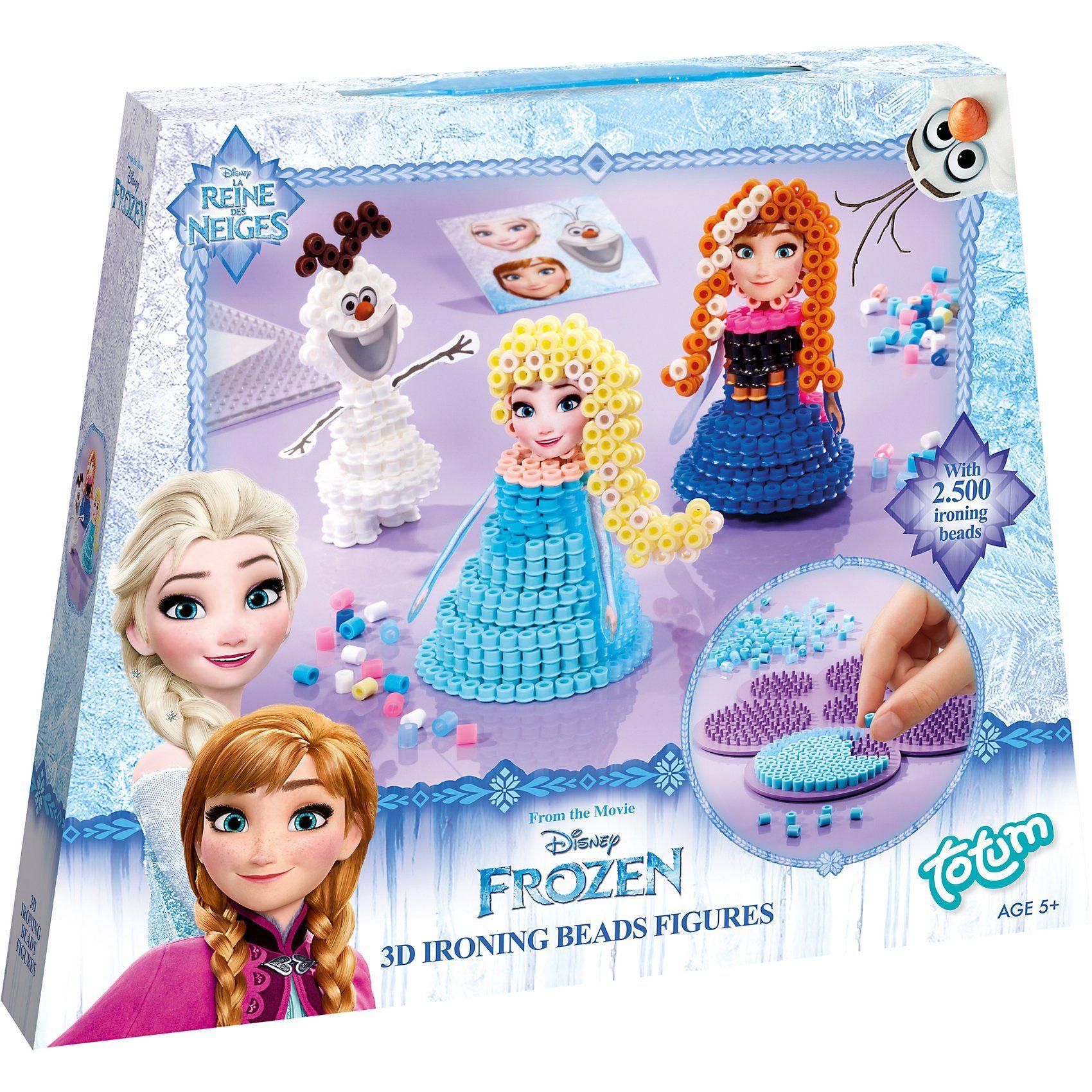 TOTUM Die Eiskönigin 3D Bügelperlen Figuren