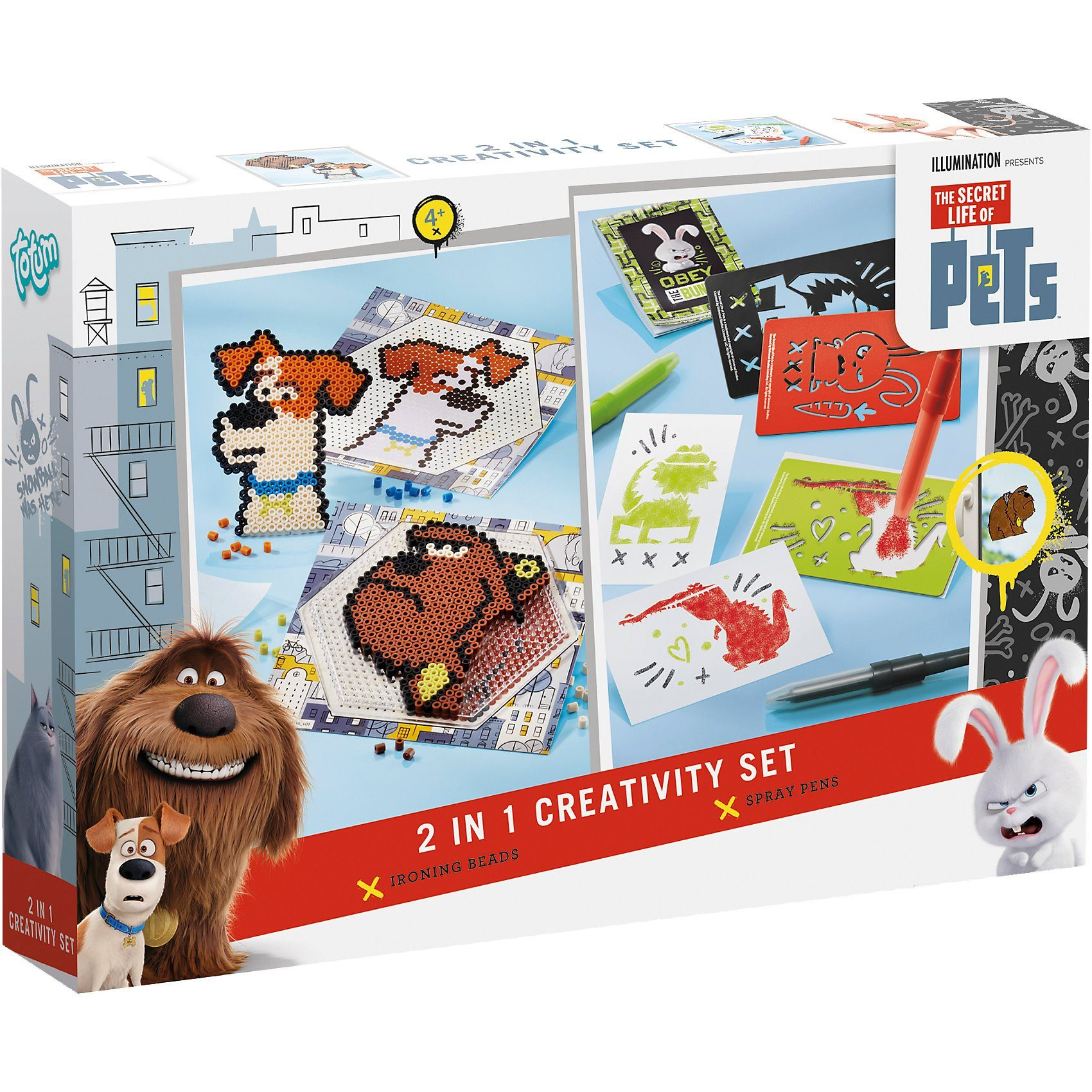 TOTUM Secret Life of Pets 2 in 1 Creativity Set