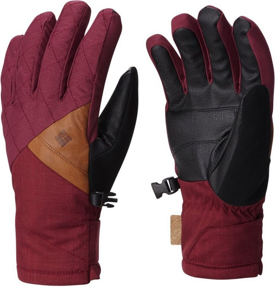 Columbia Handschuhe »St. Anthony Gloves Women« in rot