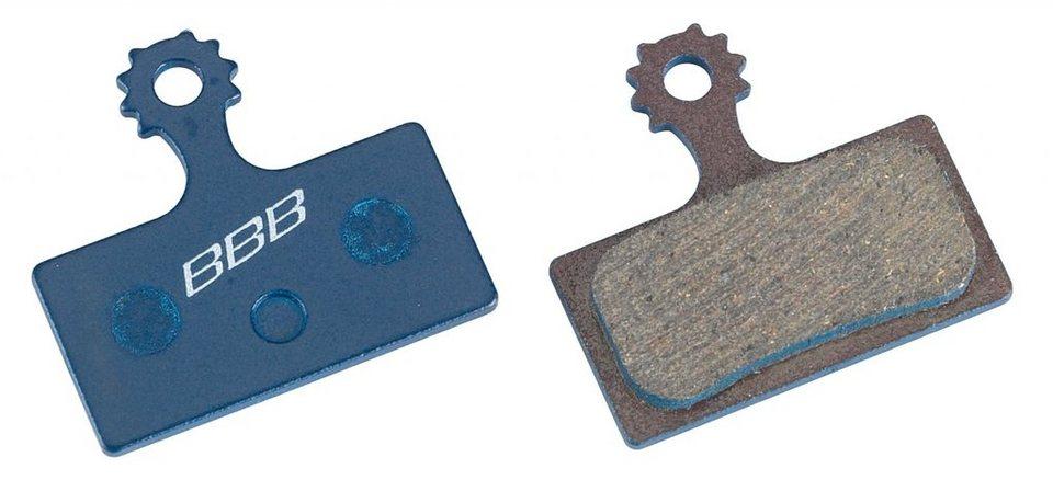 BBB Bremsbelag »DiscStop BBS-56 Bremsbelag Shimano blau«