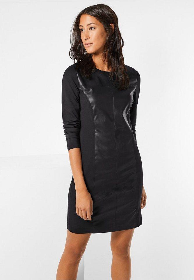 Street One Kleid im Lederlook Ivette in Black